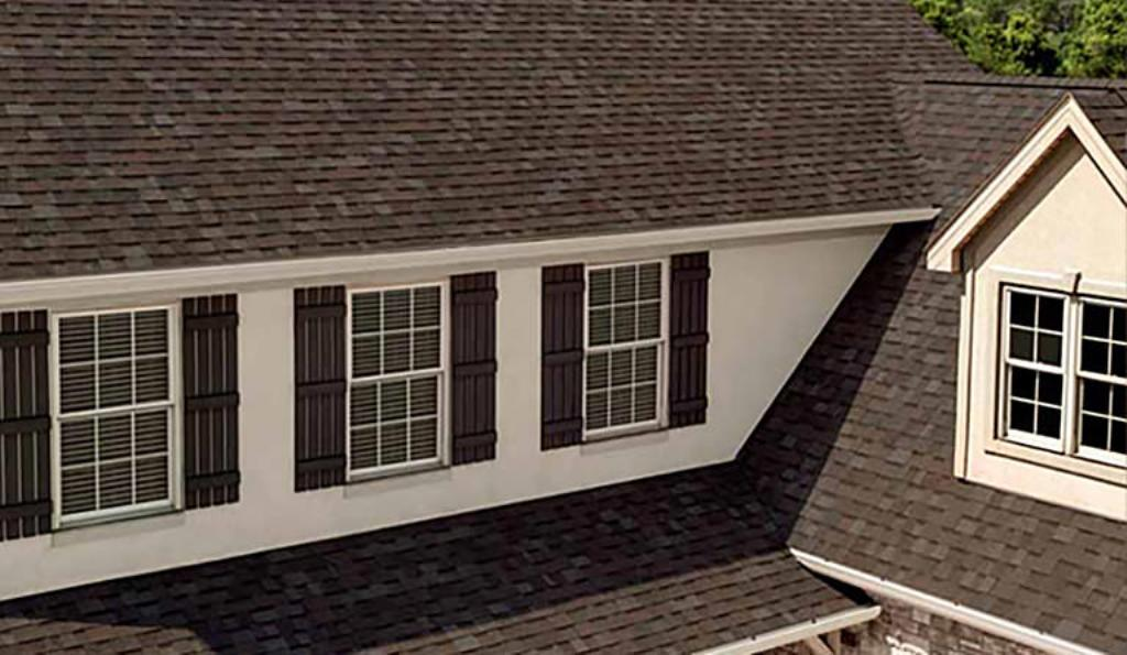 Silver Colored Architectural Roof Shingles