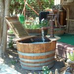 Simple Barrel Water Fountain
