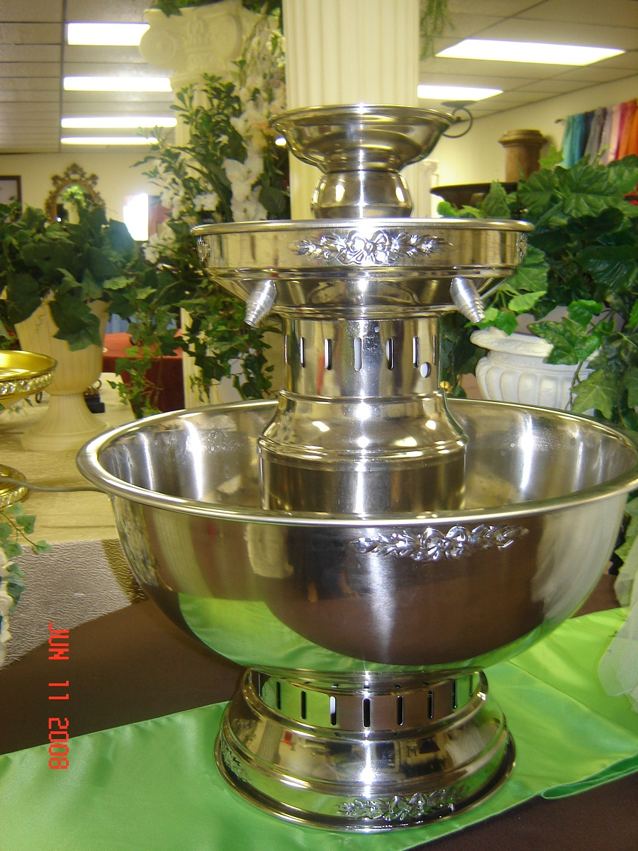 Image of: Simple Beverage Fountain