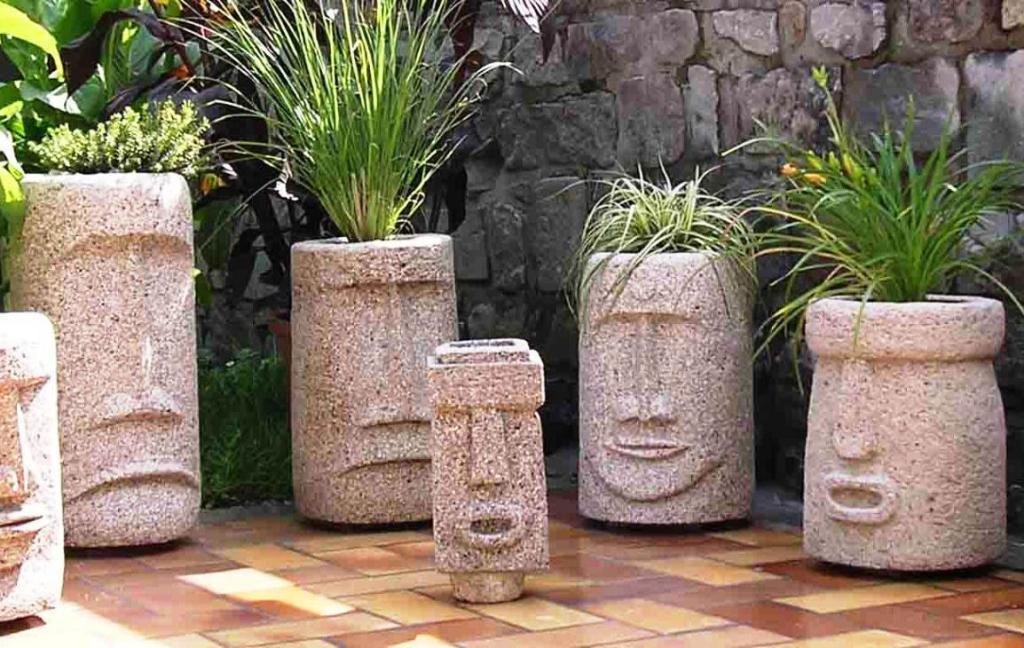 Image of: Simple Concrete Fountain Molds