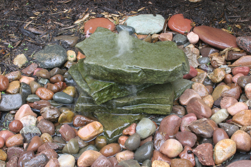 Image of: Small Bubbling Fountain