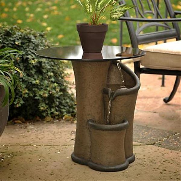 Image of: Small Contemporary Outdoor Fountains