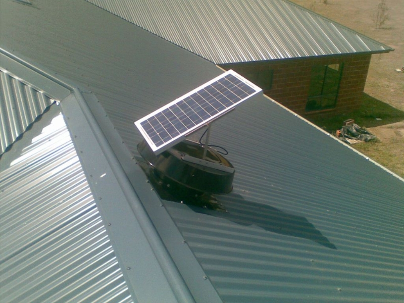 Solar Attic Roof Vents