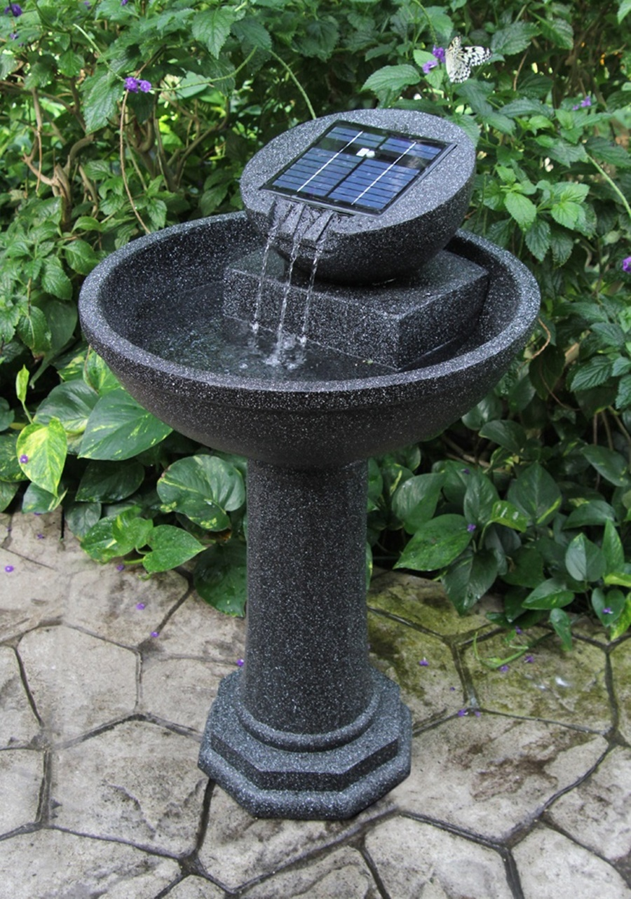 Image of: Solar Costco Water Fountain