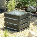 Square Contemporary Fountains