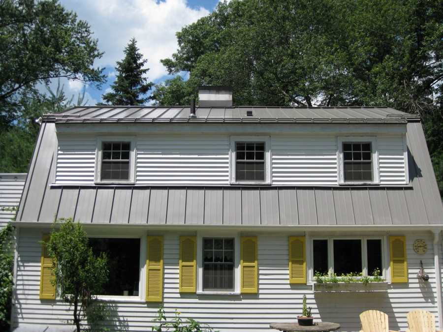 Image of: Standing Seam Aluminum Roof Paint