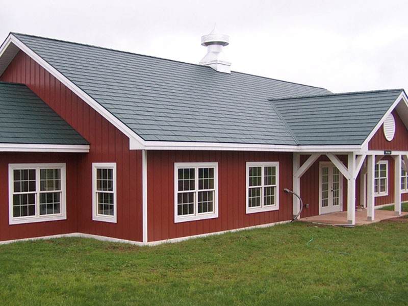 Steel Colored Metal Roofing