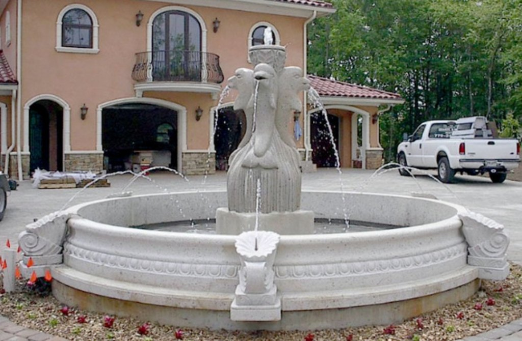 Image of: Stone Fountains for Sale