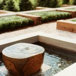 Stone Water Courtyard Fountains