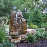 Stones Bubbling Fountain