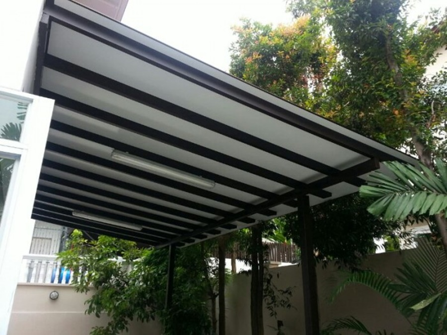Image of: Style Composite Aluminum Roofing Panels