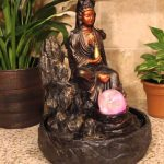 Tabletop Buddha Water Fountain Ideas