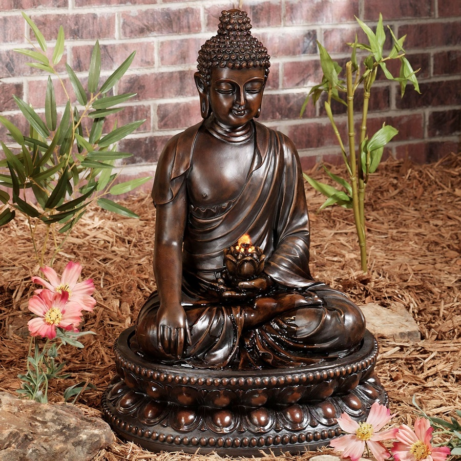 Tabletop Buddha Water Fountain