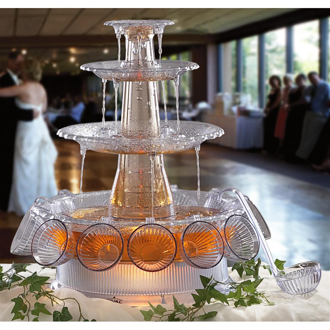 Image of: Tasty Beverage Fountain