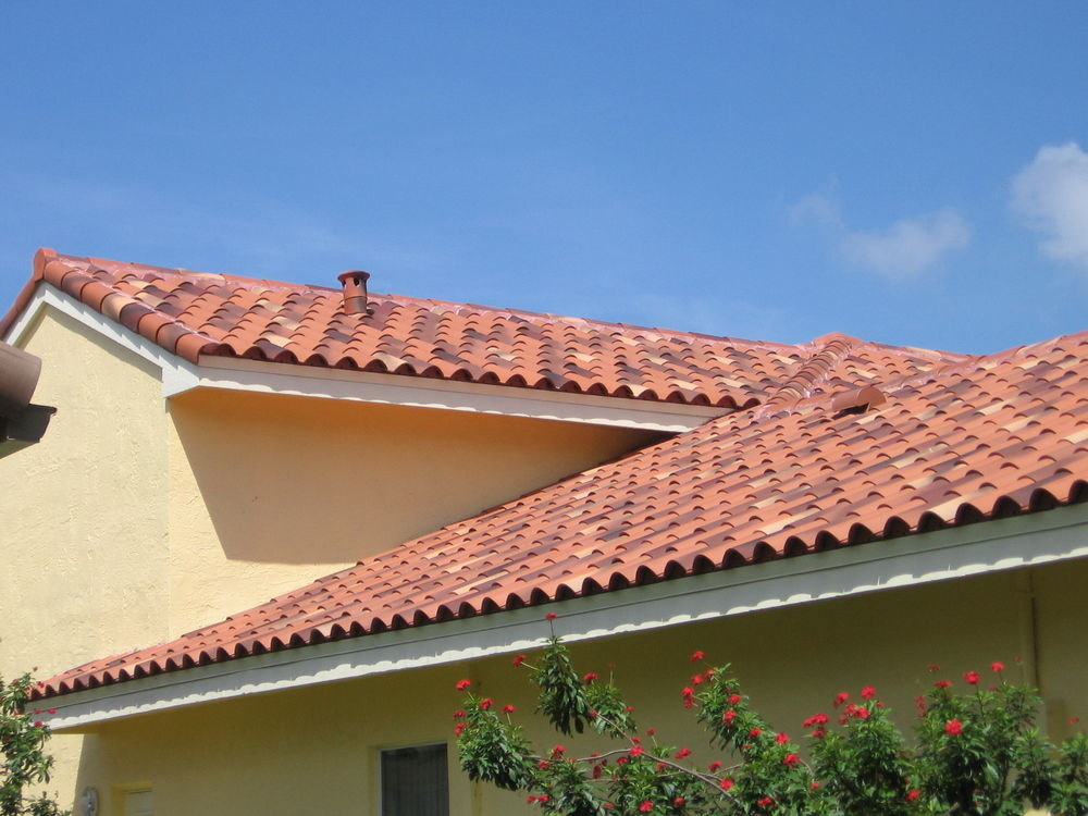 Image of: Top Ceramic Roof Tile