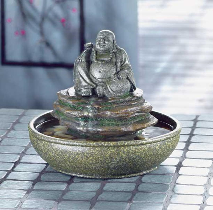 Image of: Top Tabletop Buddha Water Fountain