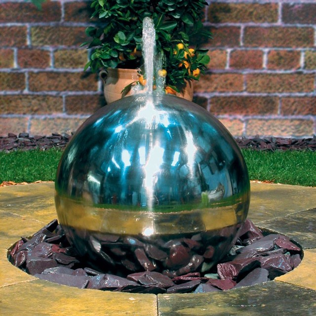 Image of: Unique Contemporary Outdoor Fountains