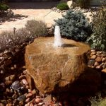 Vintage Bubbling Rock Fountain