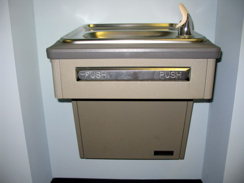 Image of: Wall Bubbler Drinking Fountain