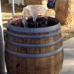 Wine Barrel Fountain