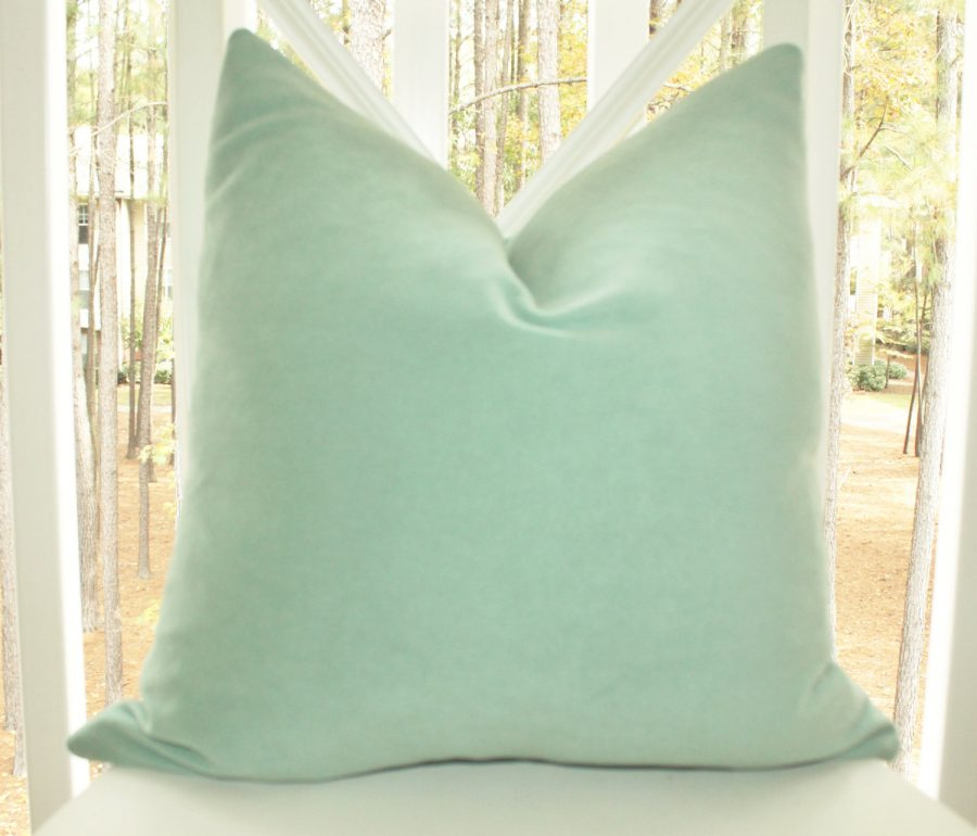 16x16 Mint Green Throw Pillows