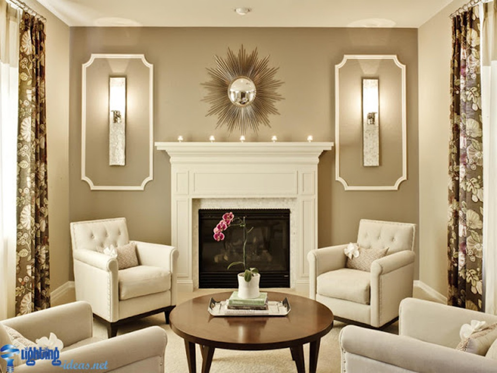 Image of: 2 Light Wall Sconce with Fabric Shade