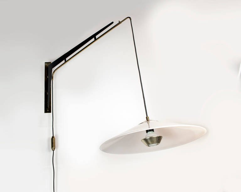 Image of: Adjustable Height Wall Sconce