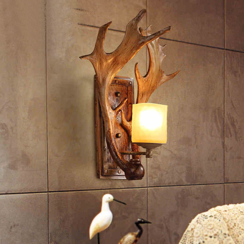 Image of: Amazing Antler Sconces