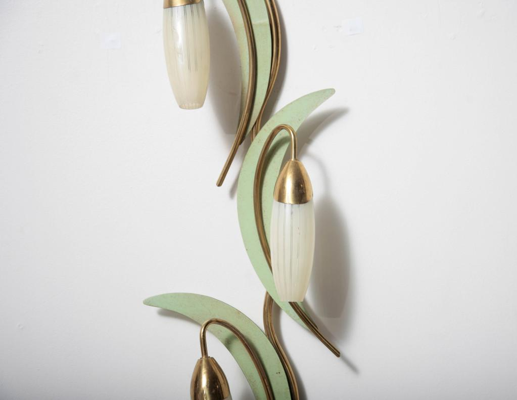 Image of: Amazing Floral Wall Sconces