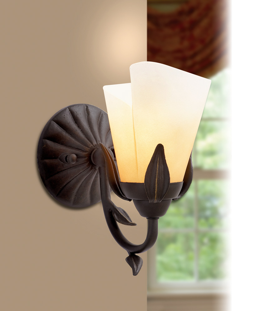 Image of: Amazing Hampton Bay Wall Sconce