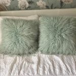 Amazing Mint Green Throw Pillows