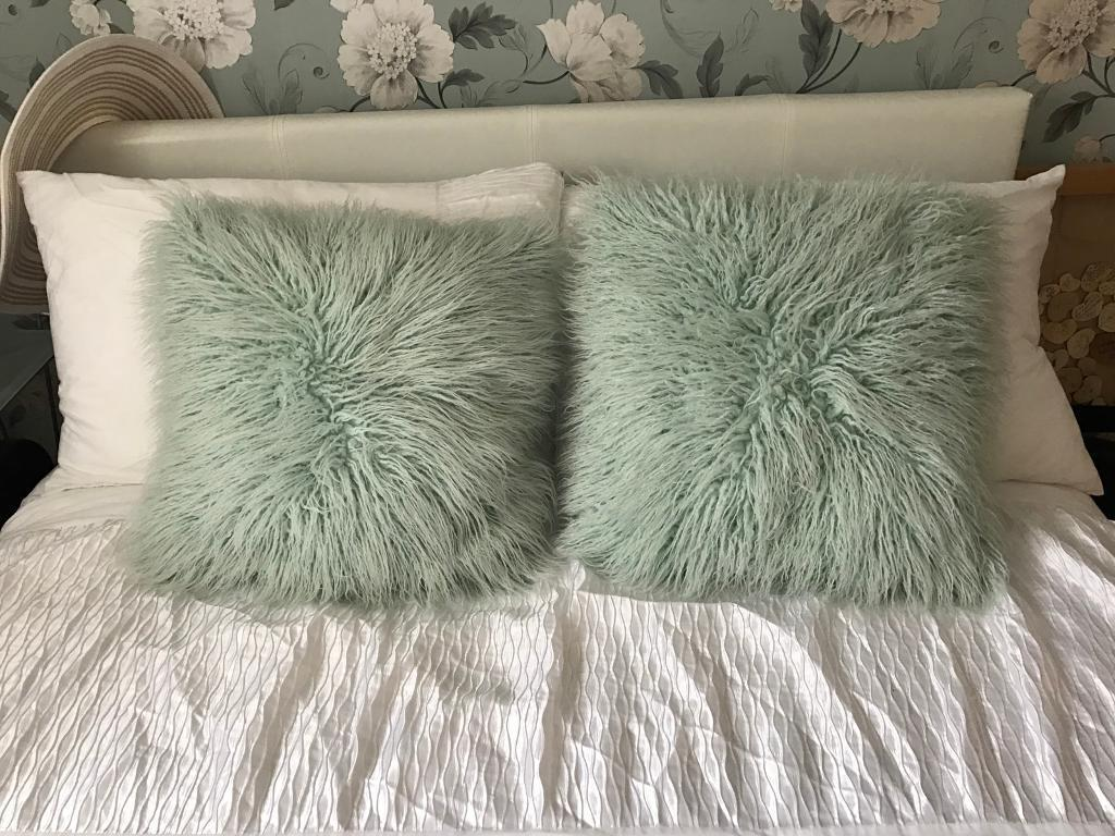 Image of: Amazing Mint Green Throw Pillows