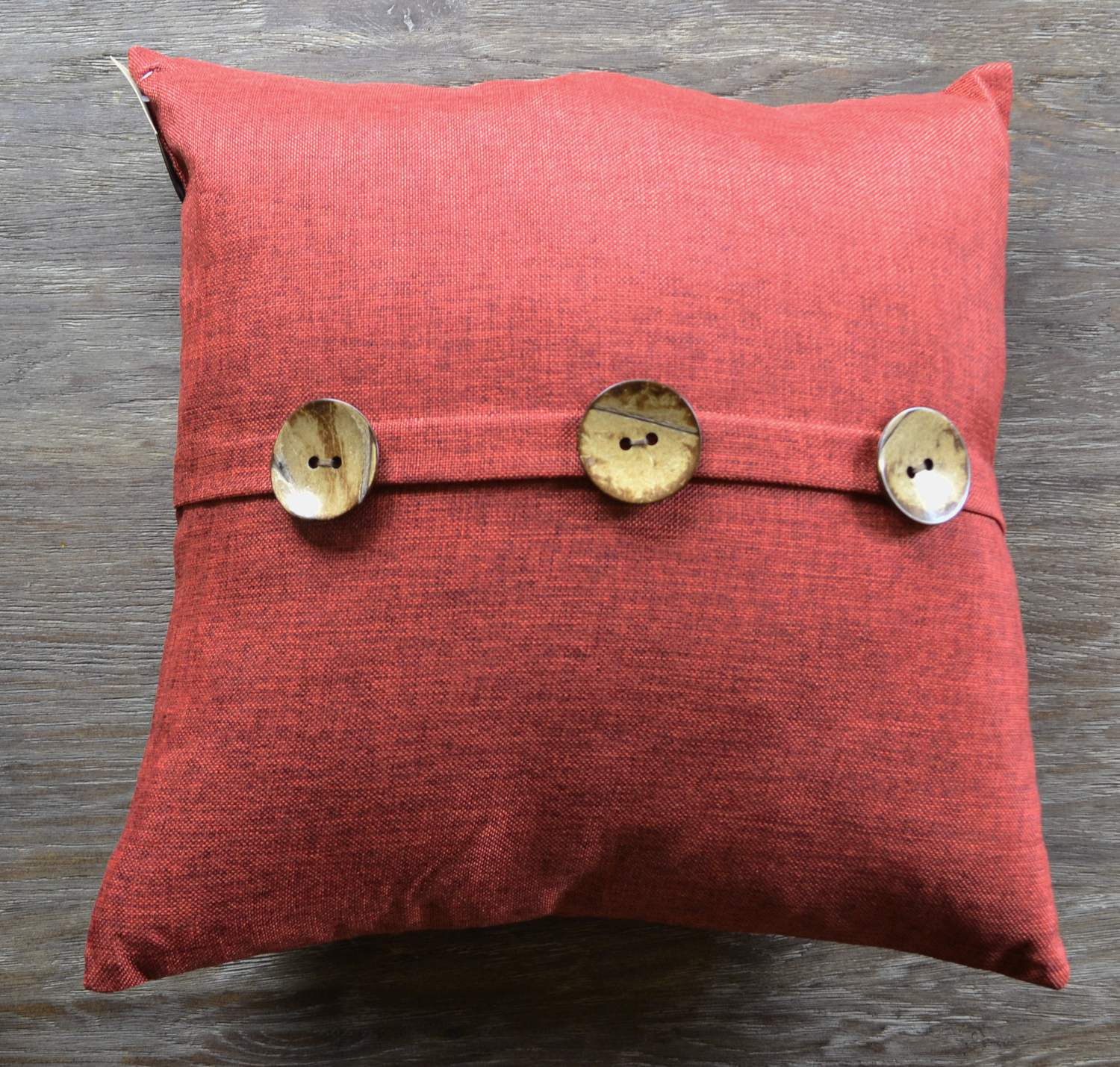 Texturel Red Decorative Pillows
