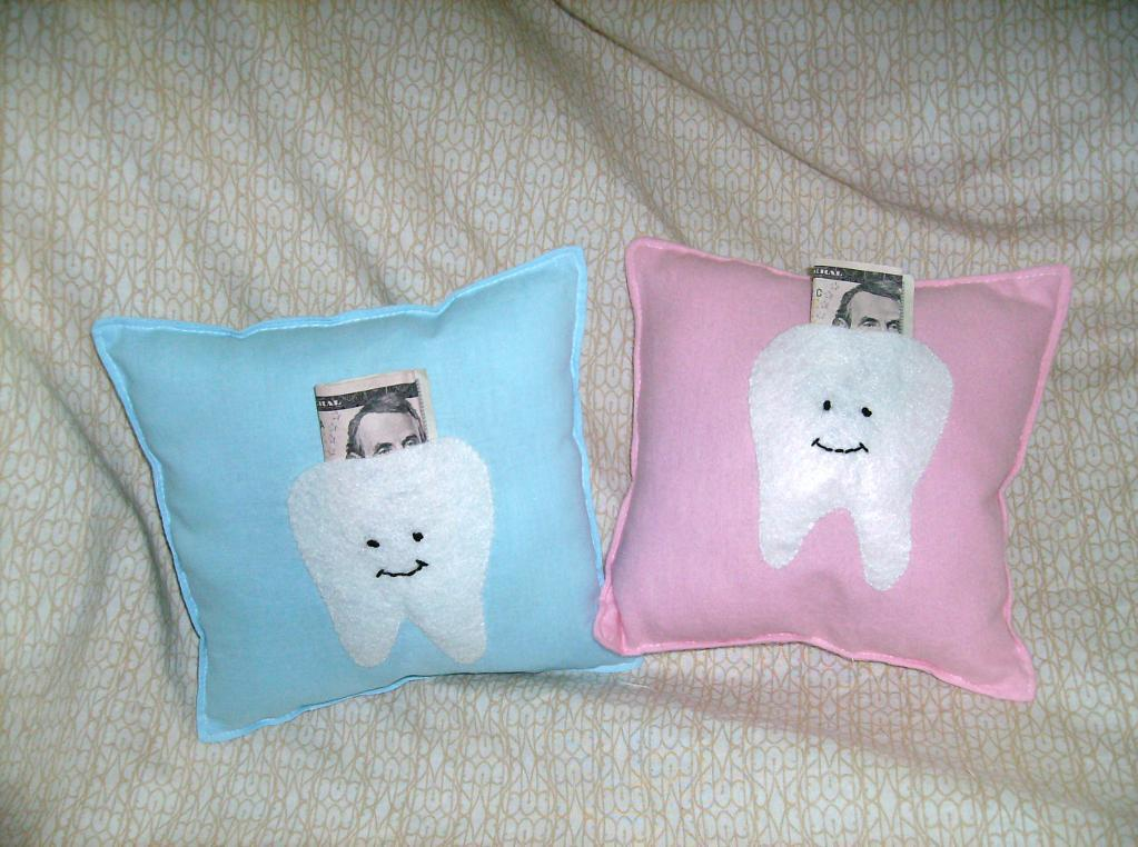 Image of: Amazing Tooth Fairy Pillow
