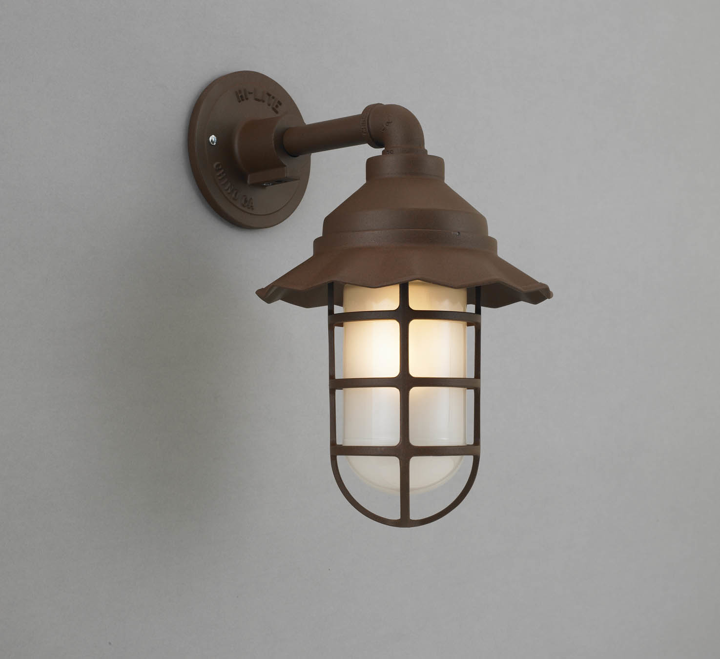 Image of: Antique Barn Light Sconce