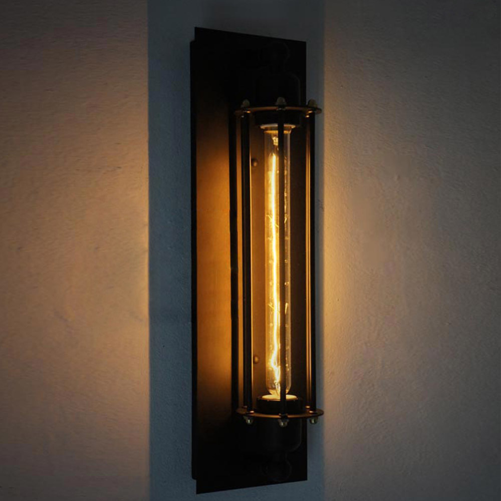 Image of: Antique Black Sconce Lights