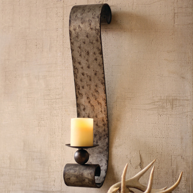Image of: Antique Candle Sconces for the Wall