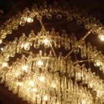 Antique Glass Wall Sconces