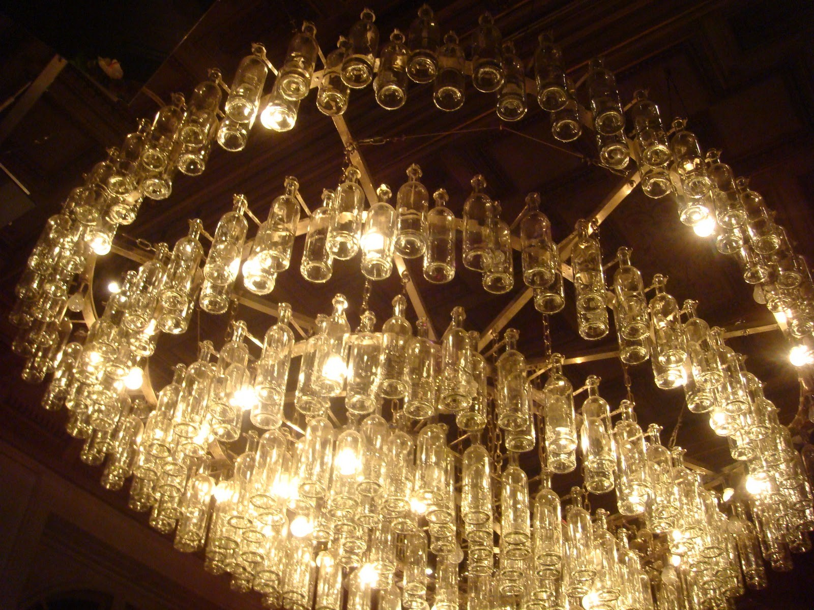 Image of: Antique Glass Wall Sconces