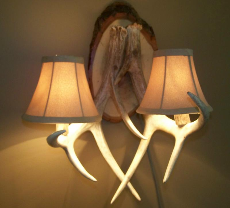 Image of: Antler Sconces Ideas