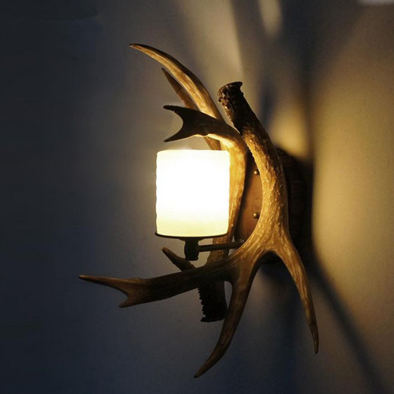 Image of: Antler Sconces Style