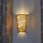 Art Glass Battery Operated Wall Sconces