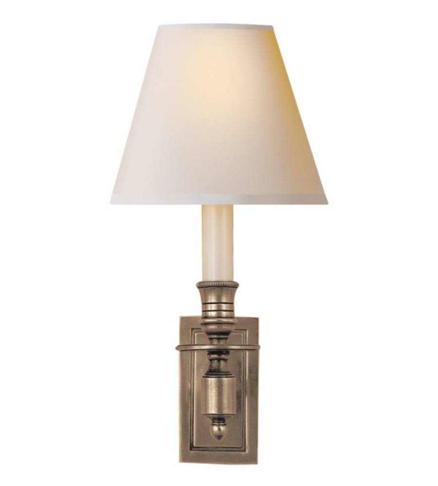 Image of: Aspect Library Sconce