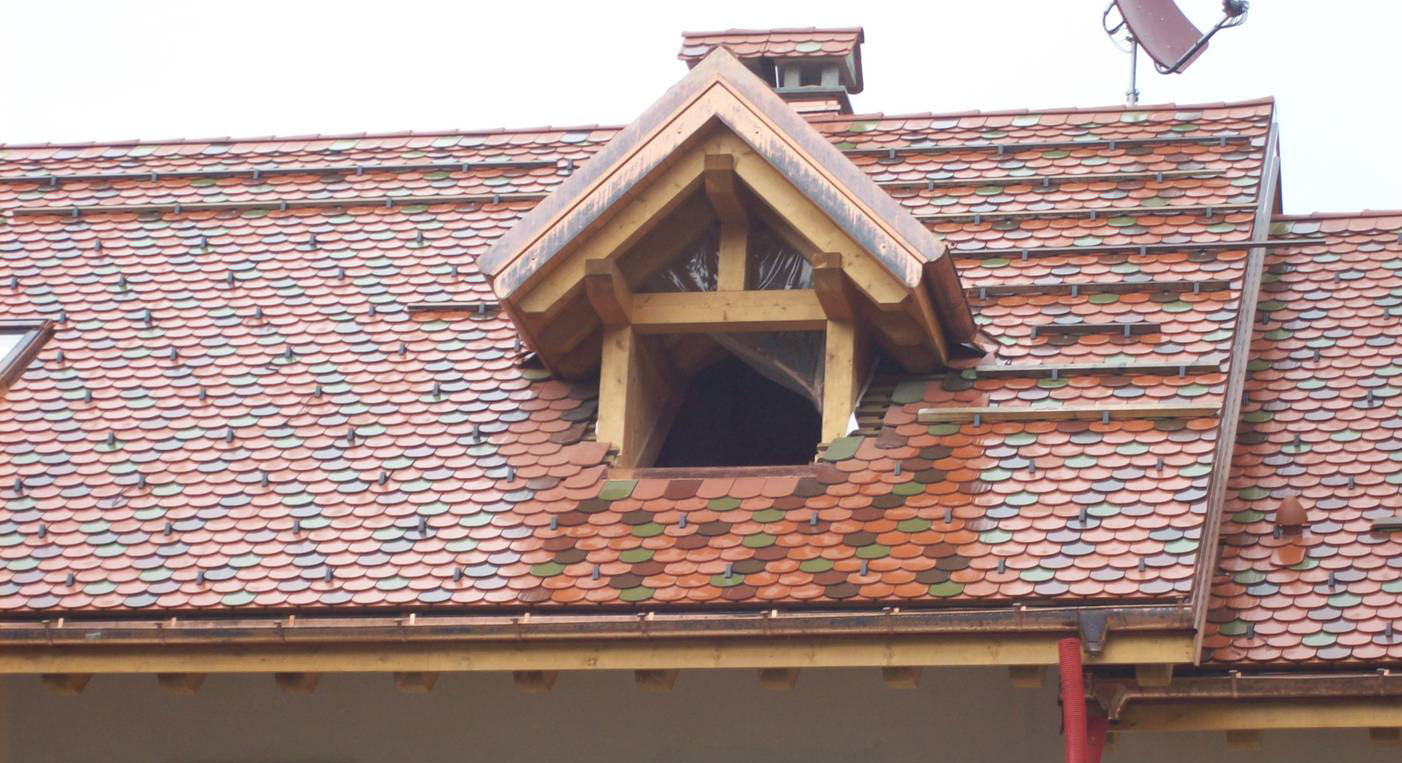 Image of: Awesome Copper Roof Shingles