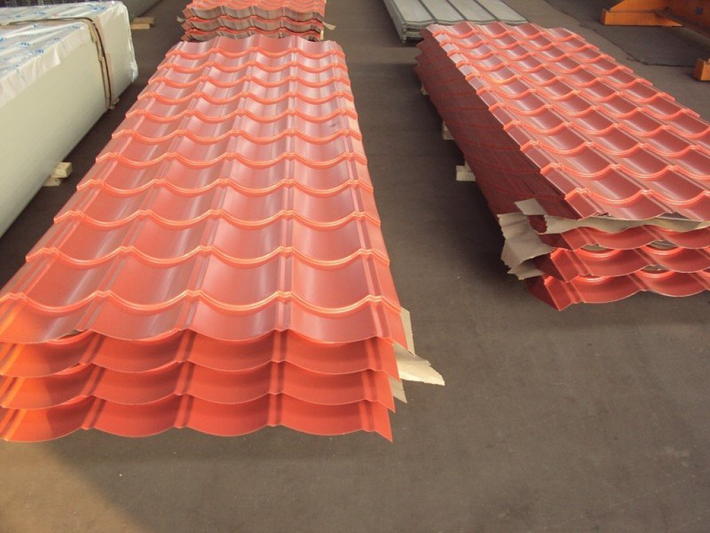 Image of: Awesome Corrugated Roofing Sheets