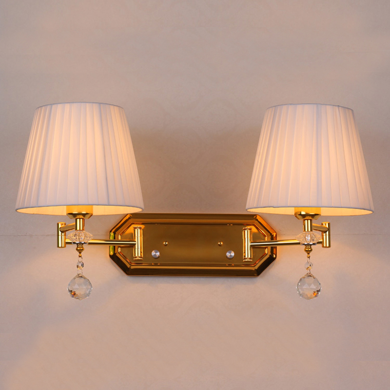 Image of: Awesome Double Wall Sconce