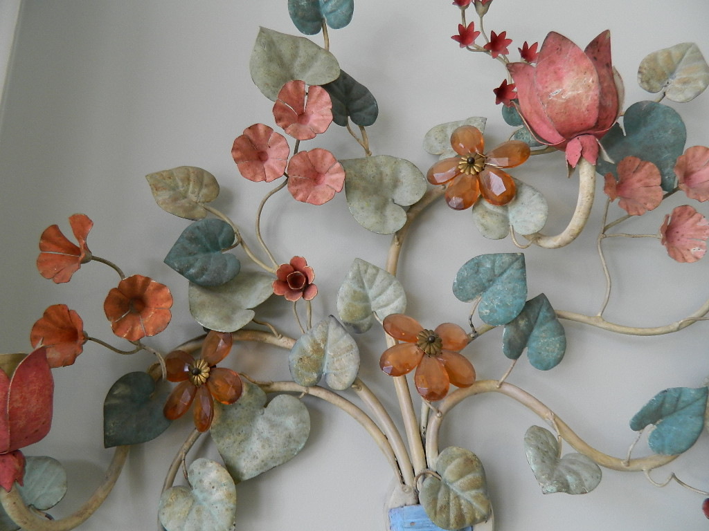 Image of: Awesome Floral Wall Sconces