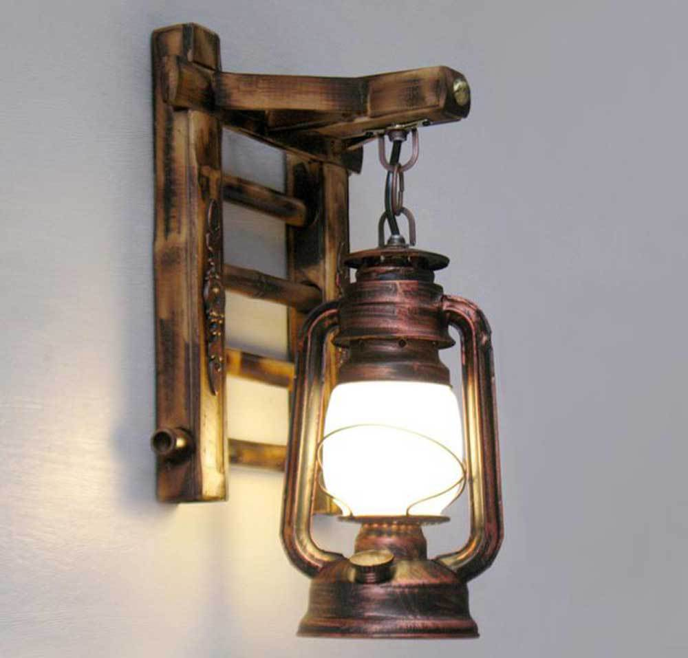 Image of: Awesome Lantern Sconce Indoor