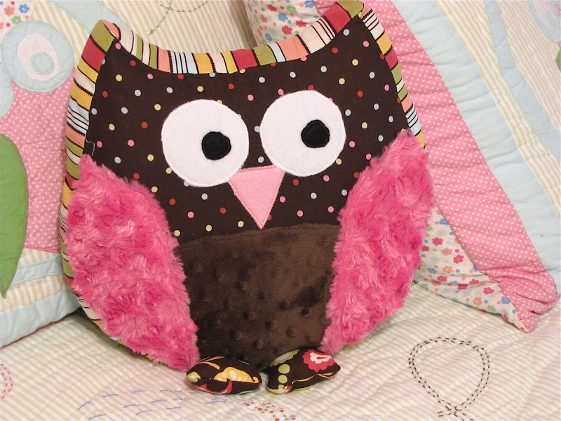 Image of: Awesome Owl Pillow