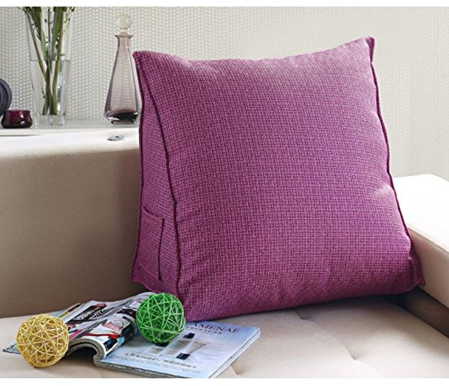Image of: Awesome Purple Lumbar Pillow